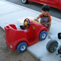 Toddler Car Wash Activity