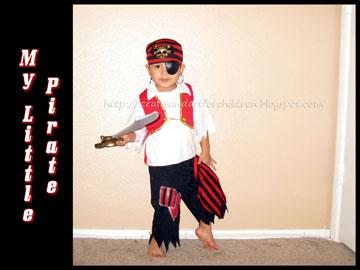 Momma's Little Pirate {Halloween Costume}