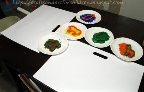 Cookie Cutter Painting