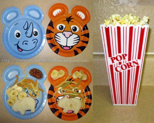 Fun food ideas for Madagascar movie