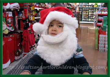 My Little Santa – Too Cute! {Wordless Wednesdays}