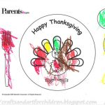 Printable Thanksgiving Turkey Placemat