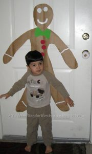 Giant Gingerbread Boy Craft for Kids