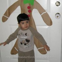 Gingerbread Boy Craft