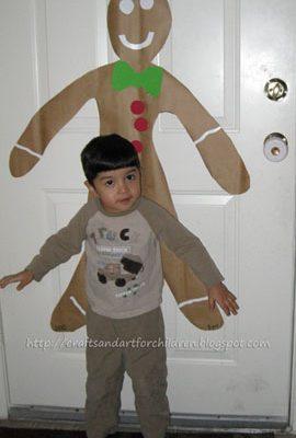 Gingerbread Boy Craft