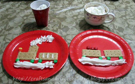 http://artsymomma.com/2010/12/polar-express-movie-craftsactivities.html