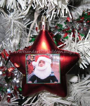 Simple Decoupage Ornament Craft