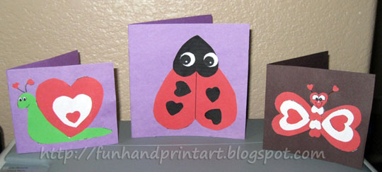HeartShaped Animals Valentines Day Cards Artsy Momma – Heart Shaped Valentine Cards