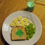 St Patrick's Day Snack