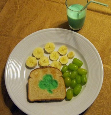 Super Simple St. Patrick's Day Snack Idea for Kids