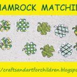 Shamrock Pattern Matching Activity