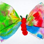 Caterpillar to Butterfly Craft – so cute!