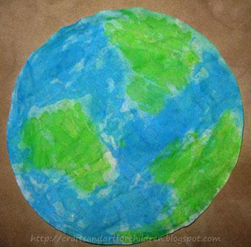 Coffee Filter Earth