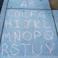 Tracing Activity for a Preschooler