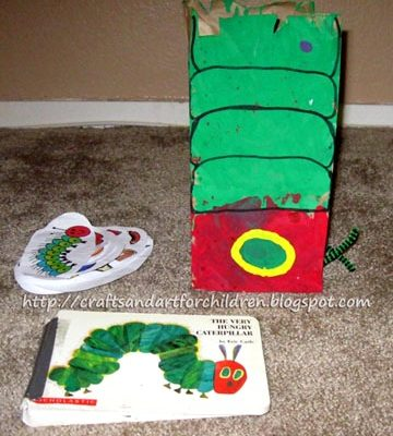 The Very Hungry Caterpillar Crafts & Activities