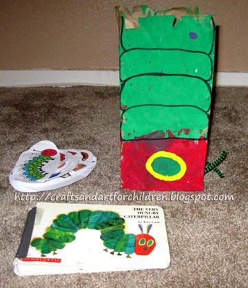The Very Hungry Caterpillar Crafts & Activities