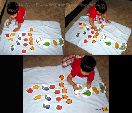 The Very Hungry Caterpillar Printable Activity