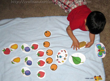 The Very Hungry Caterpillar Toddler Preschool Games