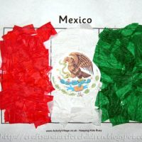 Mexican Flag Craft