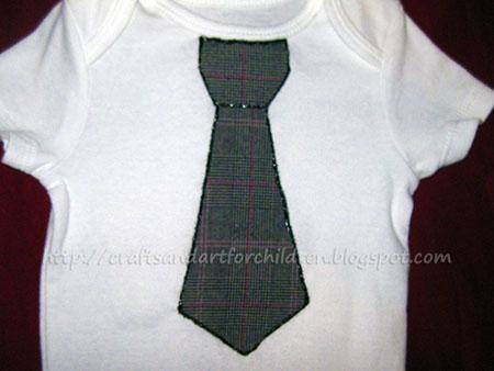 Tie appliques onesie boy t shirt artsy momma