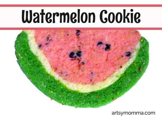 Watermelon Cookie for Kids