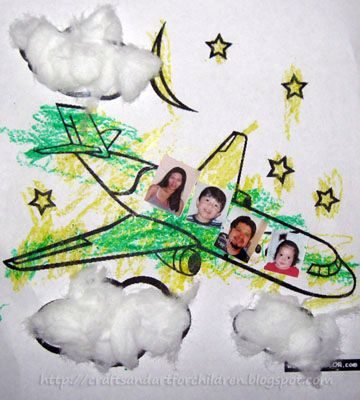 Easy Airplane Craft for Younger Kids