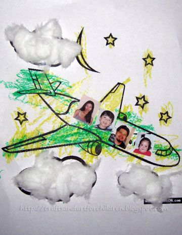 Airplane craft for kids - Easy!