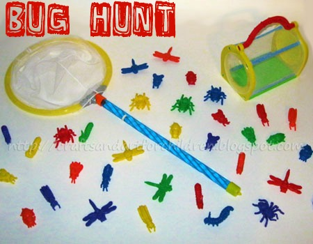Bug Hunt Activity for Kids