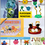 Fun Monster Crafts, Activities, Books, Movie, & Snack!