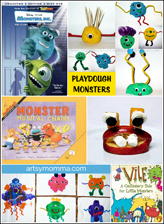 Monster Crafts, Activities, and Books