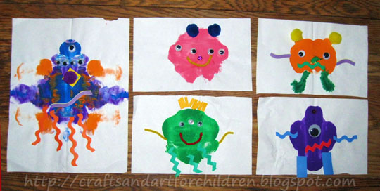 Monster Crafts and Activities, Monster Books, and Monsters Inc.
