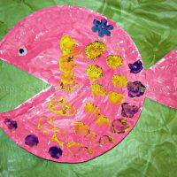 Paper Plate Fish Kids Craft