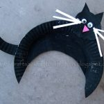 Black-Cat-paper-plate-Halloween-craft