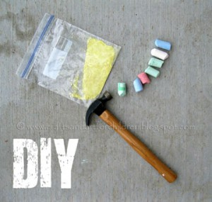 DIY Sidewalk Paint Instructions