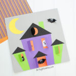Easy Halloween Haunted House Craft