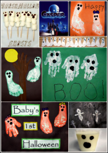 Ghost Craft for Kids: Halloween Footprints and Ghost Milk