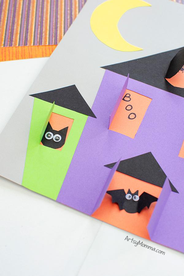 Fold Paper Bat Wings to create 3D look
