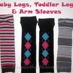 Make Your Own Baby Legs, Toddler Leggings, & Arm Sleeves for Cheap!