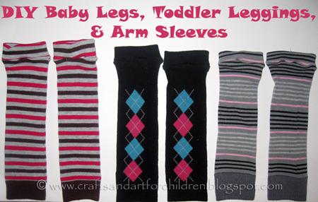 Baby Legs Tutorial