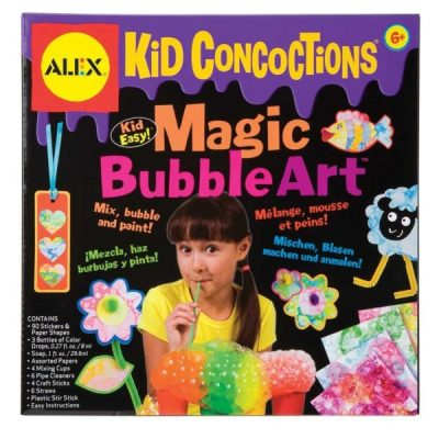 Kid Concoctions Magic Bubble Art Kit Review