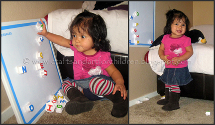 Make your own toddler baby legs tutorial