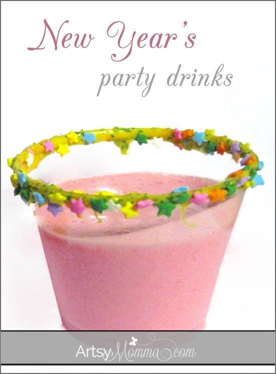New Year's Party Drink for Kids