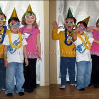 "Countdown to ""Noon"" Year's Party {crafts, photo booth, favors}"