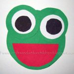 Circle Frog – shapes craft