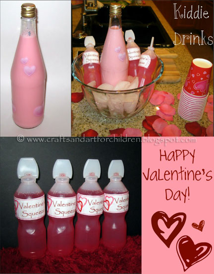 Valentine's Squeezes for a kids party
