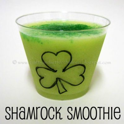 St Patrick's Day Snacks + a Shamrock Smoothie