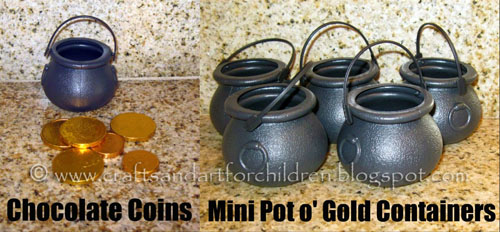 Gold Coin Hunt - St Patrick's Day Activity for Kids