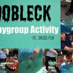 Oobleck Sensory Exploration Fun with Playgroup