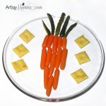 A Fun Carrot-shaped Carrot Snack!