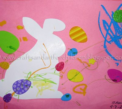 Super Easy Toddler Easter Craft